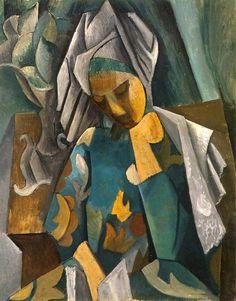"""""""Reading"""" Pablo Picasso: La Reine Isabeau (1909)"""