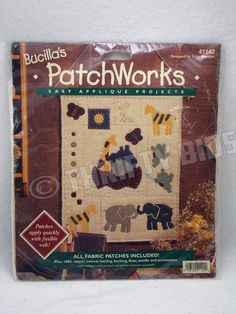 Bucilla 41142 Noah's Ark Two by Two PatchWorks Easy Applique Wall Hanging Kit #Bucilla