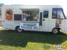 Buy or Sell Food Trucks, Concession Trailers, Vending Machines, Restaurant Equipment Ice Car, Ice Truck, Food Truck For Sale, Trucks For Sale, Used Food Trucks, Hawaiian Shaved Ice, Concession Trailer, Types Of Food, Recreational Vehicles
