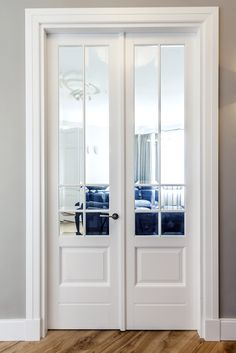French interior design I like this model . - French interior design I like this model … # French - Double Doors Interior, French Interior, Interior Barn Doors, Interior Design, Exterior Doors, Nordic Interior, Interior Ideas, Modern Interior, French Doors Bedroom