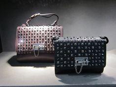 Beautiful Monica handbag by @dolcegabbana #DolceGabbana #handbag #Monica #MetalStuds #bag #FolliFollie #FW14collection