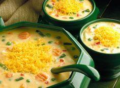 Cheddar Vegetable Chowder