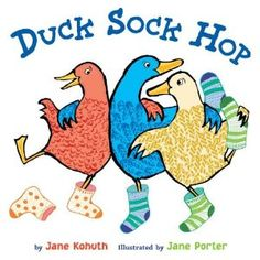 Duck Sock Hop-cute book with all types of different socks