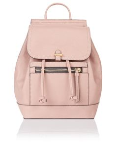 Shoulder the bag trend that's here to stay with our Katie backpack. In a compact size that's perfect for a styling a laid-back look, this design features a d...