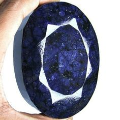BIGGEST~MUSEUM GRADE~2560 CTS NATURAL AFRICAN HUGE OVAL FACETED SAPPHIRE GEM~
