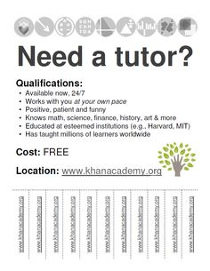 15 Cool Tutoring Flyers 9 | tutoring | Pinterest | Teacher, Pto ...