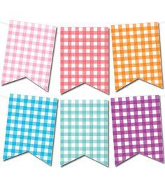 Libre párr imprimir bandera gallardete de algodón barato de printablepartydecor.com