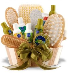 Relaxation Spa Gift Basket for Her