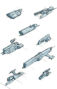 Freighter Ships by Zando-Zennek.deviantart.com