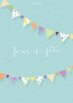 Affiche {Jour de fête} © Môme Nuage
