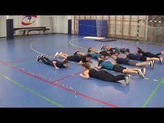 Cooperative warm up activity - YouTube