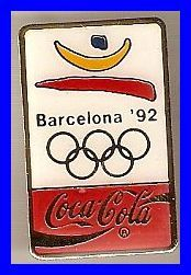 Barcelona Coca-Cola Olympic Pin Olympic Medals, Olympic Sports, Roller Skating, Ice Skating, 1984 Summer Olympics, Barcelona, Football And Basketball, Poster Ads