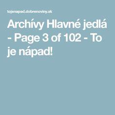 Archívy Hlavné jedlá - Page 3 of 120 - To je nápad! Page 3
