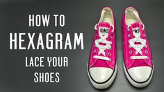 Learn how to Hexagram lace your shoes, very simple instruction for vans, converse and other shoes. Follow these simple tutorial to customize your shoes