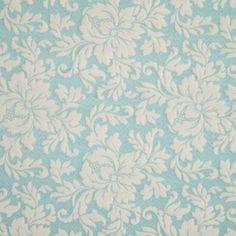 Aqua Spa Manderlay Curtain Fabric (terrysfabrics)
