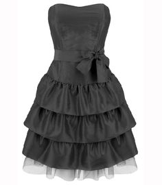 Short formal dress. Maybe in a different color?