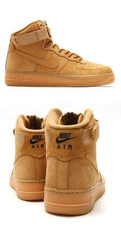 NIKE Women's Shoes - Nike Air Force 1 High - Find deals and best selling products for Nike Shoes for Women Nike Free Shoes, Nike Shoes Outlet, Sneaker Boots, Shoes Sneakers, Women's Shoes, Nike Air Force Ones, Mode Style, Swagg, Timberland