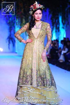 Falguni & Shane Peacock Aamby Valley India Bridal Week 2013 | Lehengas & Sarees | Bigindianwedding