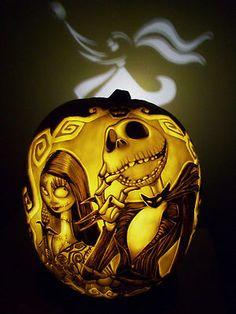 pumpkinking_77 Disney, Nightmare Before Christmas Jack Skellington, Sally, & Zero, Sold $340, 10.08.2013