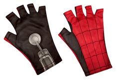 Now you can be Spider-Man! Complete your Spidey's costume from the film Spider-Man: Homecoming with these Fingerless Adult Gloves! These gloves are made to fit most sizes and comes with authentic detailing from the film. Ages 14 and up. Superhero Costumes For Men, Avengers Costumes, Spiderman Costume, Star Wars Costumes, Girl Costumes, Ninja Turtle Figures, Black Girl Braided Hairstyles, Spiderman Kids, Cold Weather Gloves