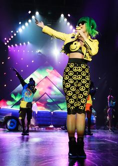 Katy Perry's Smilie Face Costume (Prism Tour)