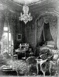 Fürstenstein.  --  Daisy's bedroom.