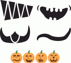Silhouette Online Store - View Design #46580: build a jack o lantern mouth