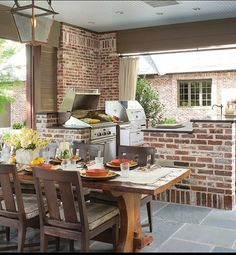 Basic Kitchen Area Concepts For Inside or Outside Kitchen areas – Outdoor Kitchen Designs Patio Kitchen, Summer Kitchen, Outdoor Kitchen Design, Patio Design, Outdoor Rooms, Outdoor Living, Outdoor Decor, Outdoor Kitchens, Outdoor Topiary