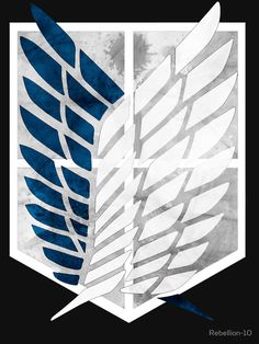 Attaque sur Titan Freedom Ailes Survey Corps Téléphone Portable Métal Autocollant Decal