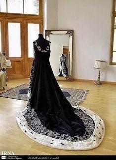 Farah Pahlavi's Ceremonial Dress