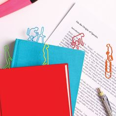 Evolution Bookmarks - A set of colorful bookmarks depicting the evolutionary progress of our species.