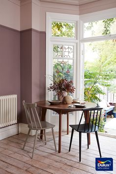 Create a cosy sanctuary in your living room with warm, nature-inspired Heart Wood - Dulux Colour Of The Year 2018.