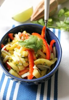 "The Kitchen Prep: Coming Clean: Pineapple-Jicama Salad + a ""Health Challenge"""
