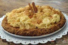 Receita de Torta de banana sem açúcar em receitas de tortas doces, veja essa e outras receitas aqui!