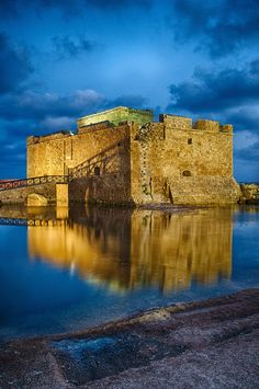 Paphos Castle, Cyprus. I've been there before and its so amazing!