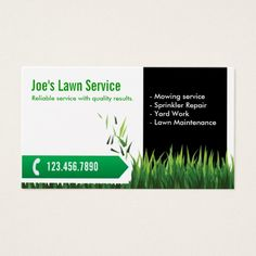 210 best lawn care business cards images on pinterest business lawn care landscaping professional mowing business card reheart Choice Image
