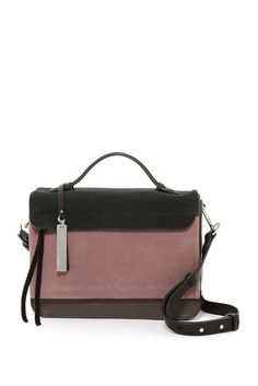 Image of Vince Camuto Felax Leather Satchel