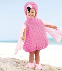 flamingo costume for toddler | Can you balance on one leg? It takes practice but you can do it! You ...