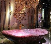 Inspiring Image Bathroom, Beauty, Chic, Gold, Luxury By Bobbym   Resolution    Find The Image To Your Taste