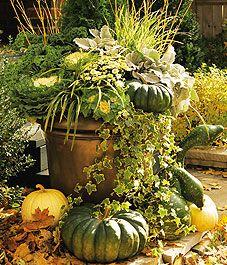 Autumn Container