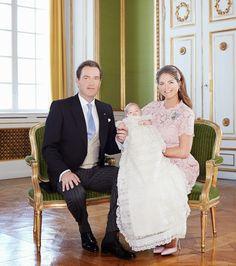 Kungligheter: Prinsessan Leonores dop- De officiella dopbilderna