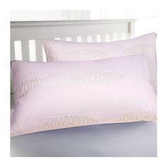 2-Pack: Luxurious Queen Memory Foam Pillows