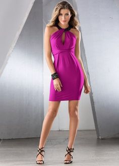 La robe fuschia à 35€