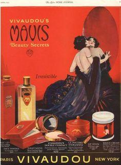 Perfumeand Make-Up AD,USA (1920)