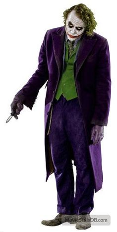 THE DARK KNIGHT - THE JOKER (Heath Ledger) WALL STICKER. Joker Heath Ledger Costume, Heath Ledger Joker, Joker Batman, Batman Hero, Batman The Dark Knight, Joker Pics, Joker Wallpapers, Joker Cosplay, Joker And Harley Quinn