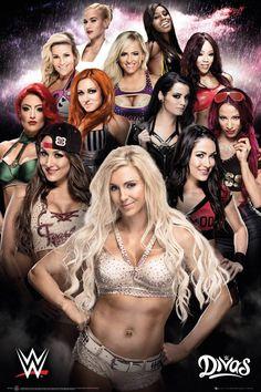 The gorgeous women of wwe of the women's Revolution. All Wwe Divas, Wwe Divas Paige, Wwe Total Divas, Paige Wwe, Wrestling Superstars, Wrestling Divas, Women's Wrestling, Wwe Lucha, Wrestling Posters