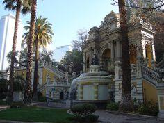 Cerro Santa Lucia, Santiago - Chile