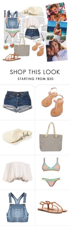 """""""S u m m e r ☀️ 💧"""" by livetarvackert ❤ liked on Polyvore featuring Joie, kiini, Moschino, Yves Saint Laurent and Rad+Refined"""