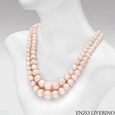 Enzo Liverino Coral 18K Gold Necklace