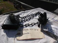ISUZU PUP PICKUP SPARE TIRE CARRIER 83-95 WINCH-HOIST-MOUNT-OEM-PUP #ISUZUPUPTIREWINCHCARRIER